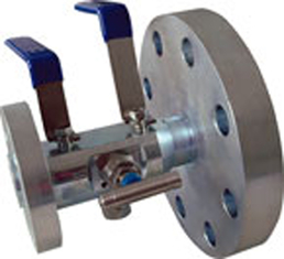 Double / Bleed Floating Ball Valve Stainless Steel DBB FLG  AISI 316 PTFE