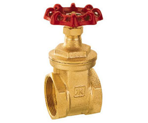 1000 PSI WOG Oil Gate Valve Copper Alloy 1.6MPa PN With Screwed End