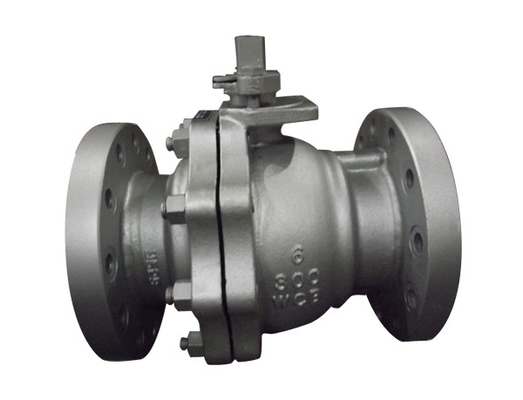 API 6D Floating Ball Valve 2 Inch With PTFE Seat Keep Zero Leakage