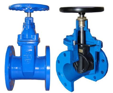 DN700 RSV Ductile Iron Gate Valve With PN16 Pressure Rating